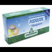 Specchiasol Fisiosol 1 Manganeso 20Amp