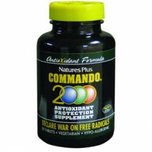 Natures Plus Commando 2000 60 comp