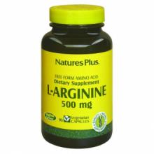 Natures Plus L-Arginina 500mg 90 cap