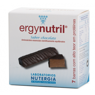 Nutergia ERGYNUTRIL Barritas Chocolate 7 ud