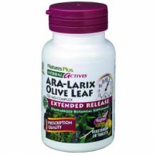 Natures Plus Ara-Larix Hoja de Olivo 30 comp