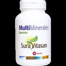 Sura Vitasan Multi Minerales Quelados 90 cap