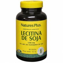 Natures Plus Lecitina De Soja 1200mg 90 perlas