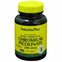 Natures Plus Chromax II Picolinato de Cromo 90 comp