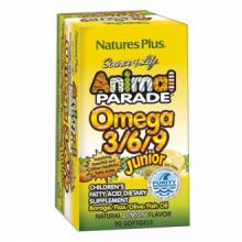 Natures Plus Animal Parade Omega 369 Junior 90 perlas