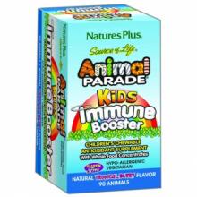 Natures Plus Animal Parade Kids Immune Booster 90 comp