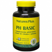 Natures Plus Ph Basic (Corrector Del Terreno Acido) 60 cap