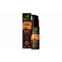 Dr Organic Aceite De Barba y Afeitado Ginseng Orgánico 50ml