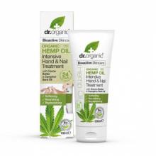 Dr Organic Tratamiento Intensivo Manos y Uñas Aceite Cañamo 100ml