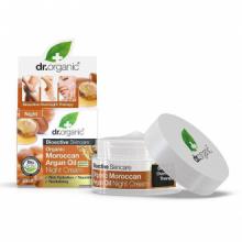 Dr Organic Crema de Noche Aceite Argán Marroqui 50ml