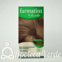 Farmatint Gel Coloración permanente 5N Castaño Claro 135ml