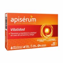 Apiserum Vitalidad 30cap
