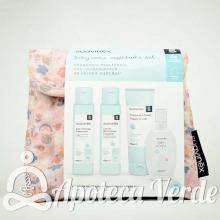 Suavinex Neceser de Tela Baby Care Essentials Set Rosa