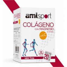 Ana María Lajusticia Amlsport Colageno Magnesio Vitamina C 20 Stick