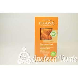 Colorante vegetal en polvo Rubio Sahara de Logona 100gr