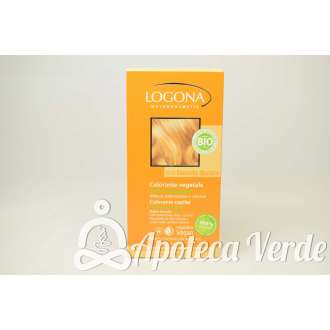 Colorante vegetal en polvo Rubio Dorado de Logona 100gr