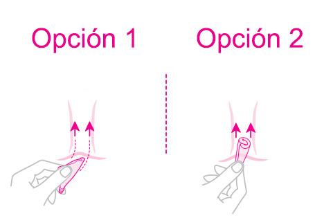 como introducir la copa menstrual intimina lily cup
