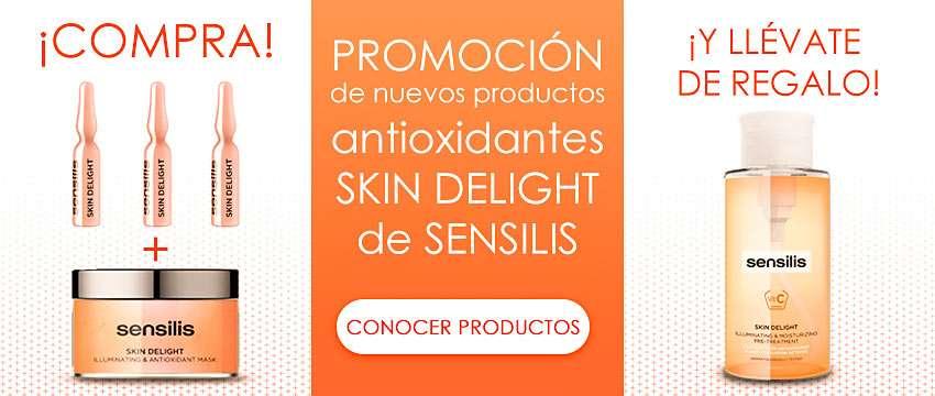 ¡Promoción en nuevos productos Skin Delight Sensilis!