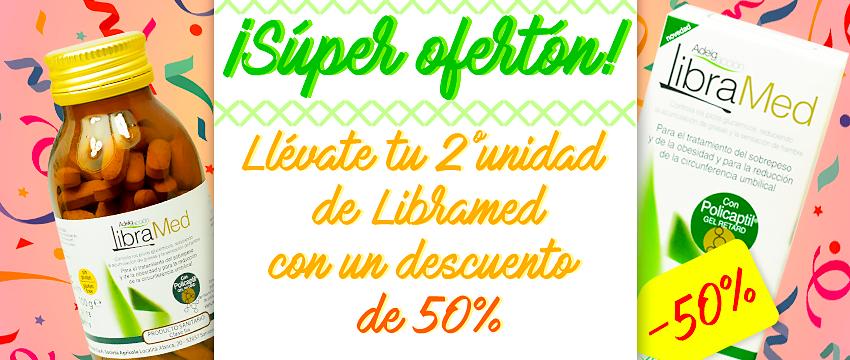 Segunda unidad de Libramed Aboca con 50% de descuento