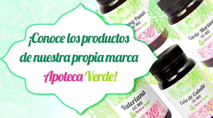Productos Apoteca Verde