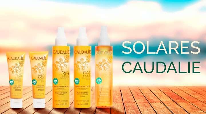 ¡Descubre la nueva línea de Protectores Solares de marca Caudalie!