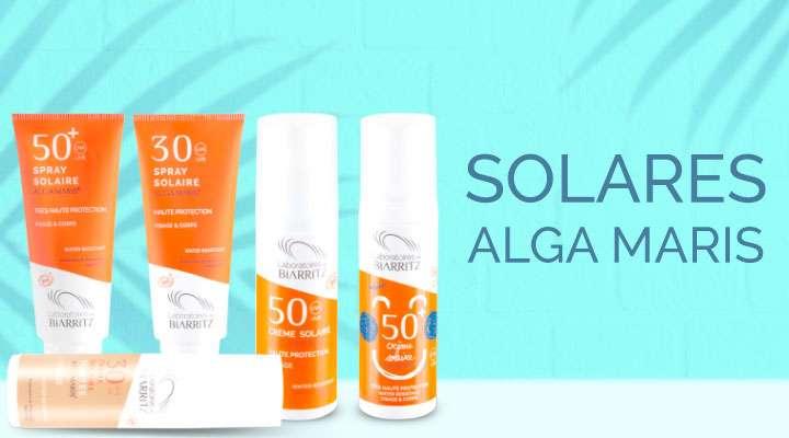 Conoce fotorportectores naturales Alga Maris sin siliconas, parabenos, PEG, perfumes sintéticos ni sales de aluminio