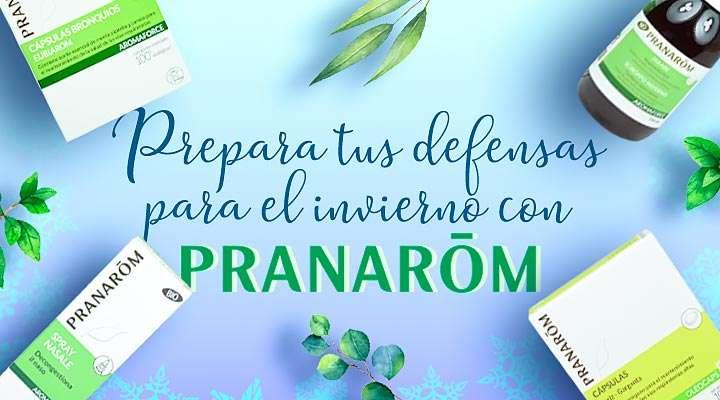 Prepara tus defensas para el invierno con Pranarom