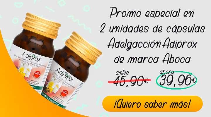 Oferta en 2 unidades de cápsulas a Adiprox Adelgacción Aboca